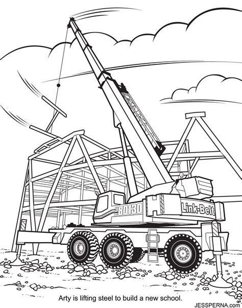 Construction Vehicles Coloring Pages Coloring Home Construction Colouring Pages