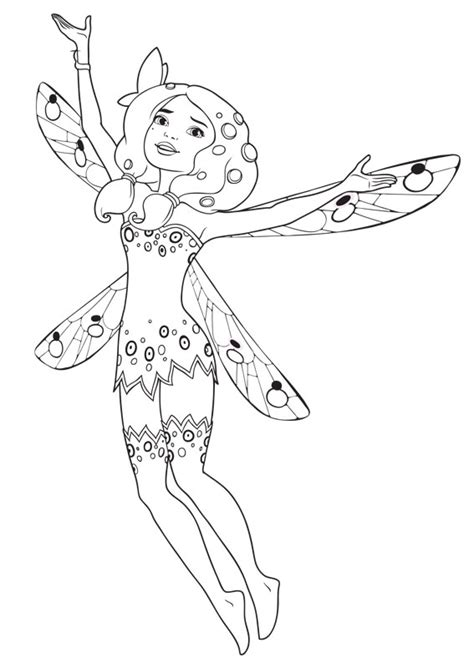 avalar mia and me coloring pages printable avalar best