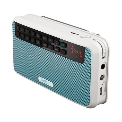 Speaker Bluetooth Radio rolton e500 portable stereo bluetooth speakers fm radio clear bass dual track speaker tf card