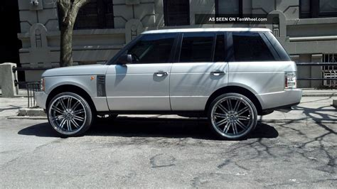 land rover chrome 2004 range rover hse with 26 quot chrome rims