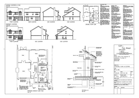 garage drawing garage drawings uk plans free