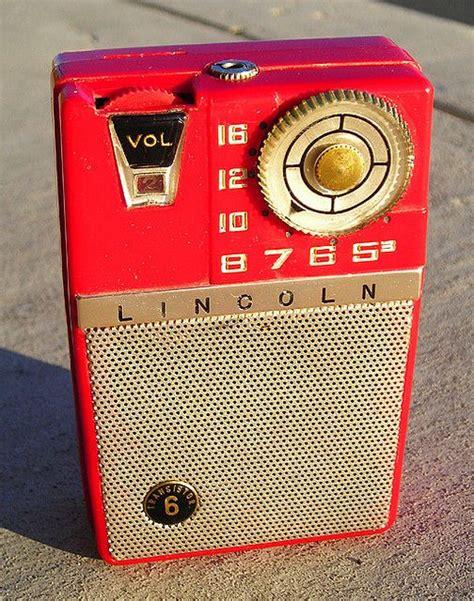 transistor radio lincoln 6 transistor radio 1960 s vintage radio and otr shows pi