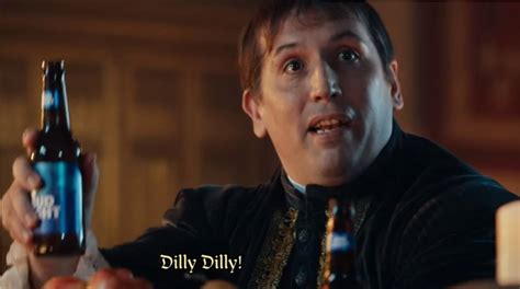 bud light commercial dilly you ll never guess what dilly dilly means and where it