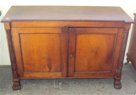 Australian Pine Furniture by Early Colonial Two Door Cabinet Australian Huon Pine