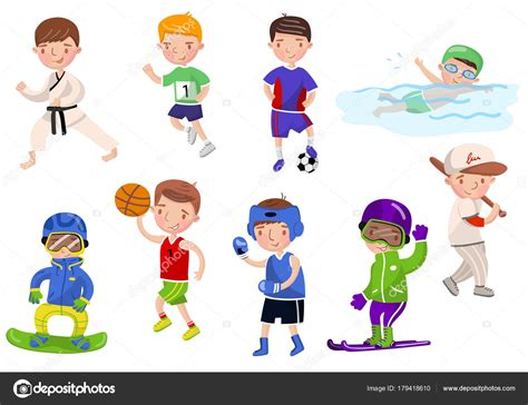 imagenes niños haciendo ejercicio los ni 241 os hacer ejercicio y practicar deportes diferentes