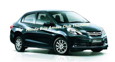 honda brio amaze revealed honda brio amaze first clear pictures emerge