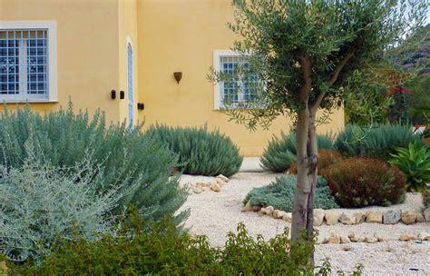 Native House Design by Mediterranean Garden Design For Rural Garden In Sicily