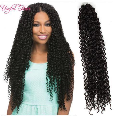 long water wave crochet 18 curly weaves freetress curly crochet hair water wave