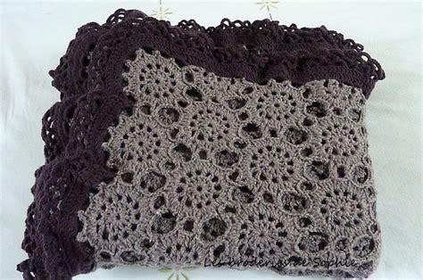plaid crochet bruy 232 re photo de c 244 t 233 crochet et tricot les broderies de
