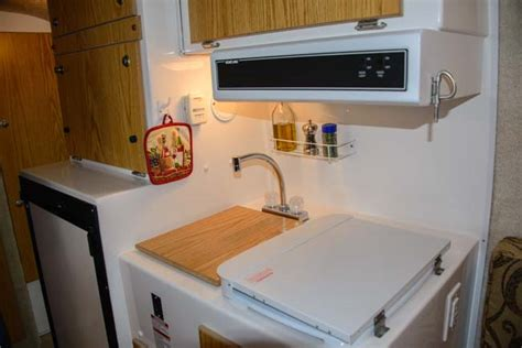 Casita Kitchen by Casita Travel Trailers Lots Of Rv In A Tiny Package