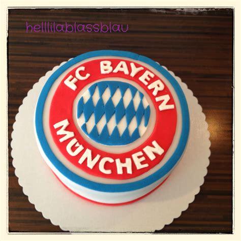 bayern münchen kuchen helllilablassblau fc bayern m 252 nchen torte