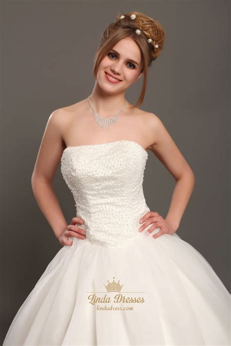 ivory beaded wedding dress ivory strapless organza gown wedding dresses with