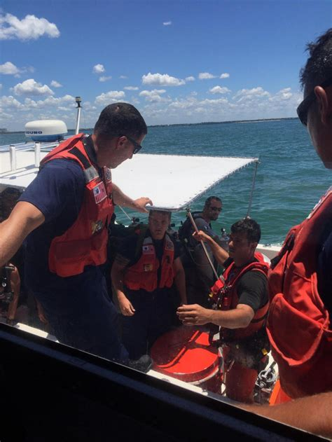 charter boat rescue dvids images coast guard rescues 8 after charter dive