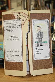 thomas edison biography for middle school this assignment is for students to create a brochure for a
