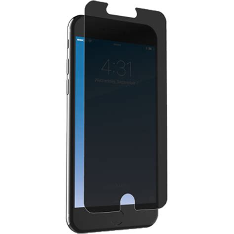 zagg invisibleshield glass privacy screen protector i7lgpc f00