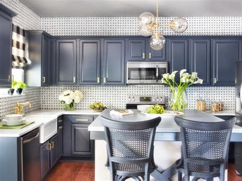 White Cabinet Kitchen Design Ideas how to refinish cabinets like a pro hgtv