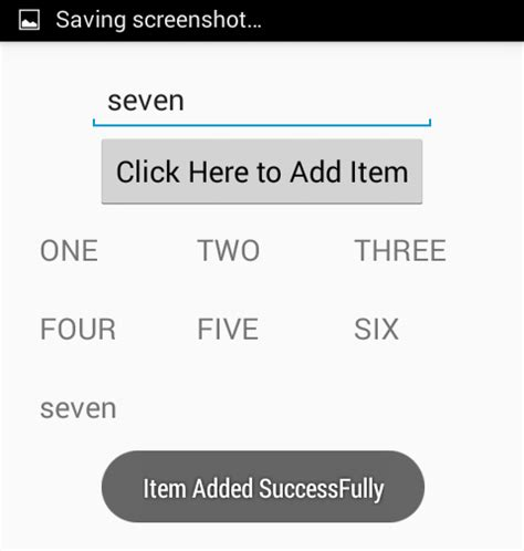 android place button next to edittext on the same line add items to gridview dynamically in android using