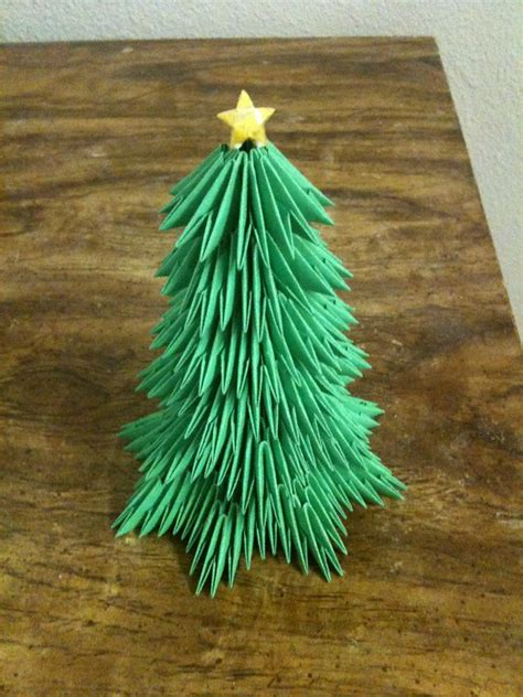 christmas tree album master ha 3d origami art