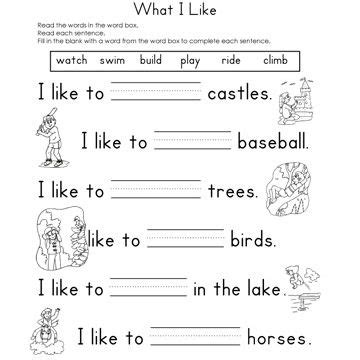fill in the blanks worksheets fill in the blank worksheets