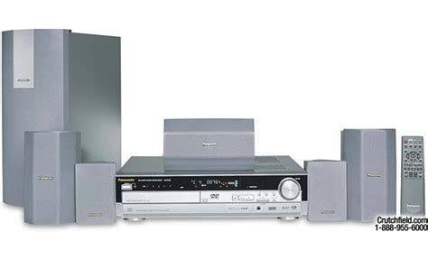 panasonic sc ht95 5 disc dvd home theater system at