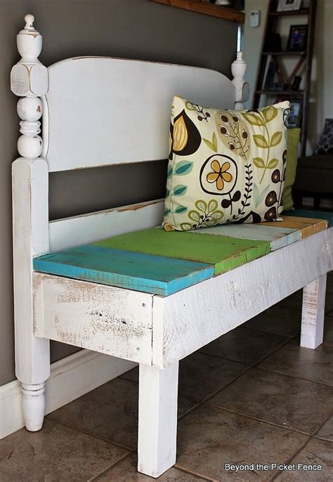 benches made from headboards upcycled diy ideas for old headboards recycled things
