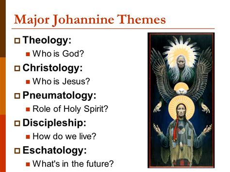 major themes in god s bits of wood the gospel according to john ii major themes ppt video