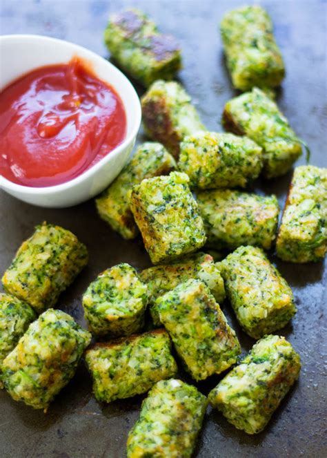 healthy fats for vegan toddlers healthy baked broccoli tots