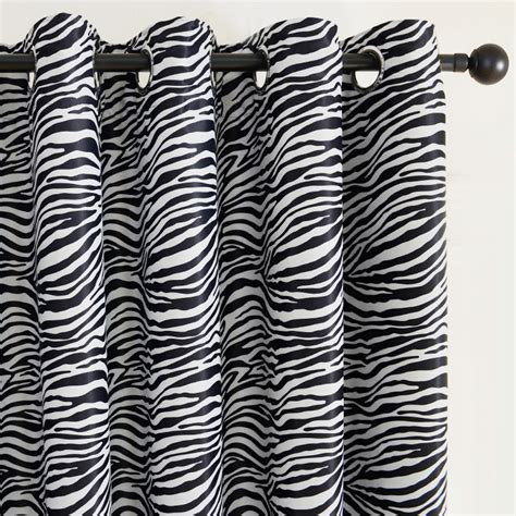 zebra window curtains online get cheap zebra print curtains aliexpress com