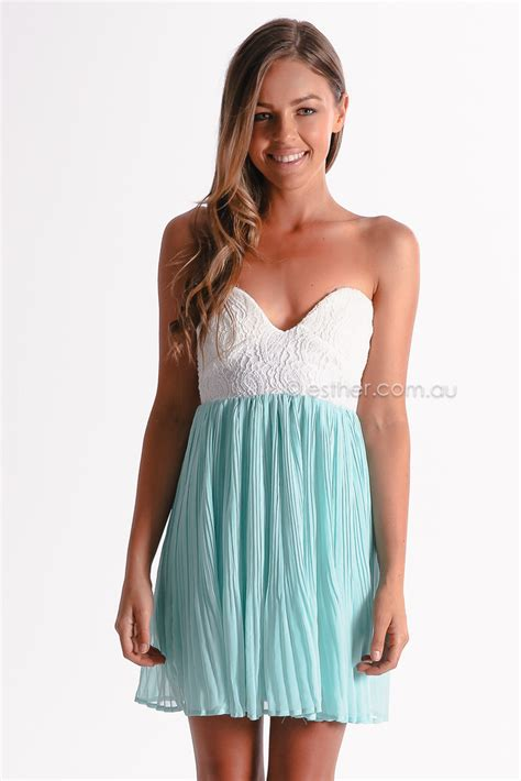 clothing australia one and only cocktail dress mint esther clothing