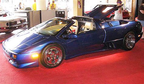 Mike Tyson Lamborghini Mike Tyson 2000 Lamborghini At Cars Museum