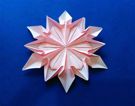 origami kerzenhalter 269 besten origami and snowflakes bilder auf