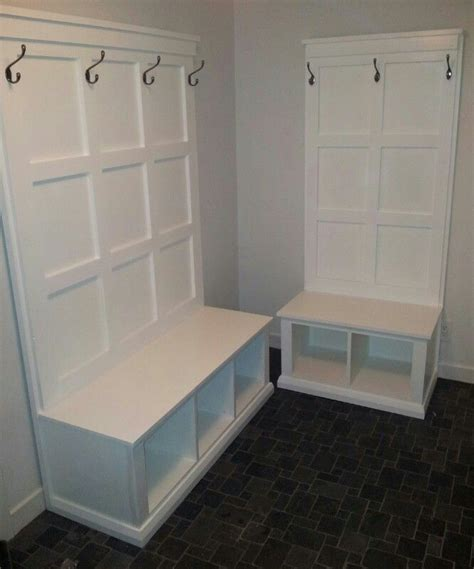 diy hall tree storage bench diy hall tree  benches  mud room plans courtesy  ana