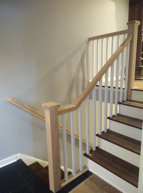 new stair banisters new jersey dkp wood railings stairs
