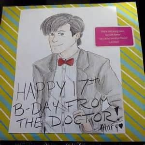 doctor who birthday card by insanehamburgers on deviantart