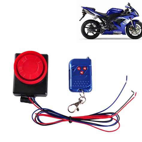 Alarm Motor Sensor Sentuh vibration detector sensor anti theft alarm for motorcycle and electric motor car with
