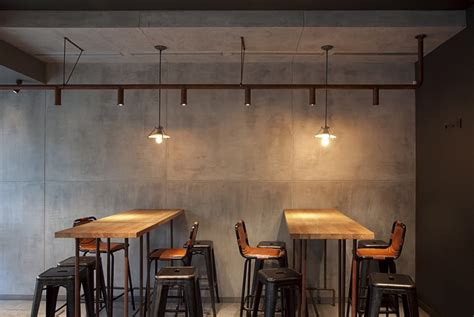 industrial coffee shop sviezia kava interior nerijus