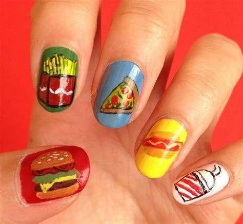 Fast Food Nail fast food nails nails food