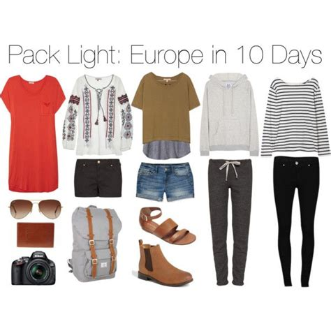 what to pack for europe pack light europe in 10 days clothes