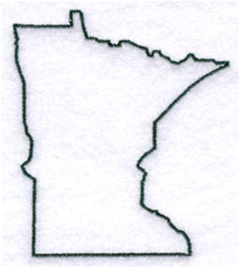 minnesota outline tattoo minnesota outlines clipart best