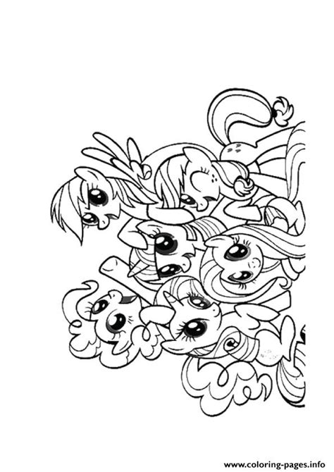 coloring pages my pony friendship is magic a friendship is magic my pony coloring pages printable