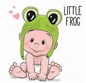 Cartoon Little Baby Vector Material 05