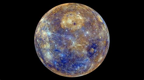 mercury planet color mercury shows its colourful side news