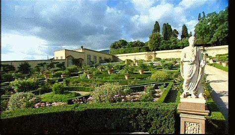 italienischer garten der villa di florenz