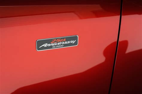 miata logo 2015 mazda miata 25th anniversary edition costs 33 000
