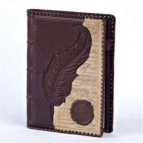 Handmade Diary Cover - 9 x 6 5 handmade leather notebook book cover diary