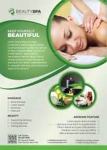 spa flyer beauty flyer by themedevisers graphicriver