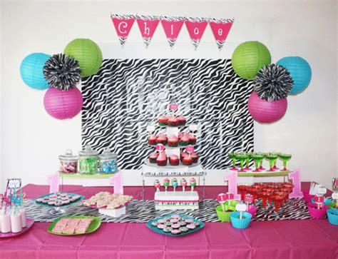 zebra print themed birthday party zebra party chloe is 1 chickabug