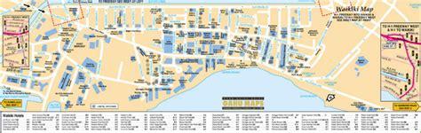 printable map honolulu related keywords suggestions for waikiki map