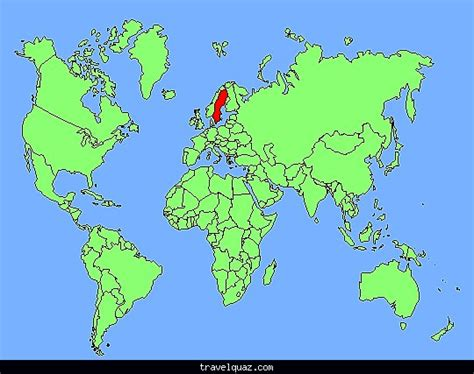 sweden on a world map sweden world map my