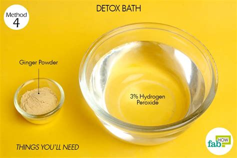 Hydrogen Peroxide Detox Bath by How To Use Hydrogen Peroxide For Skin Teeth Hair And